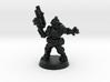 Space Mercenary - 28mm Heroic 3d printed
