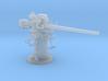 1/48 USN 3 inch 50 Cal Deck Gun 3d printed