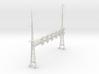 HO Scale PRR W-signal LATTICE 6 Track  W 2-2 PHASE 3d printed
