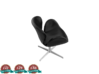 Miniature Swan Lounge Chair - Arne Jacobsen  3d printed Miniature Swan Lounge Chair - Arne Jacobsen