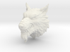 Wolf Head STL 3d printed