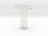 N/OO Scale Lamp x4 3d printed