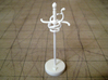 Role Playing Counter: Rapier 3d printed Rapier in Strong & Flexible Plastic (Polished White)