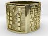 OGBEKANA Ring Size 14 3d printed