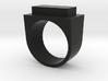Yang Ring 3d printed
