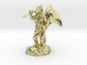 Winged Kobold with Dagger And Rock 3d printed