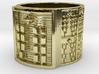 OYEKUNFOLOKANA Ring Size 13.5 3d printed