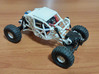 Beadlock rim for Losi Micro Rock Crawler 3d printed Example of the complete kit