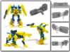 Legion TFP Twinstrike Blaster 3d printed