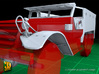 M14 Ambulance conversion (1/35) 3d printed M14 ambulance conversion