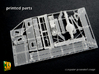 M14 Halftrack conversion (1/35) 3d printed M14 gun tractor/personnel carrier - actual print