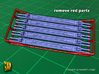 British WW2 Stretcher - rolled up (1/35) 3d printed British stretcher - rolled-up type