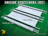 British WW2 Stretcher - mix set 3d printed British stretcher - mixed set