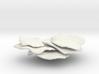 Flattop Coral ,Shelf Coral,(Montipora Capricornis) 3d printed