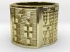 ODISA Ring Size 11-13 3d printed