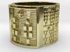 ODILEKE Ring Size 13.5 3d printed