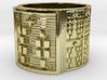 ODIFUMBO Ring Size 13.5 3d printed