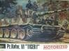 1/30 Tiger I 88mm KwK 36 L-56 Barrel 3d printed