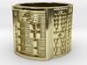 OJUANISHOBE Ring Size 11-13 3d printed