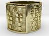 OJUANINISHIDI Ring Size 13.5 3d printed