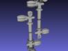 1/6 Scale Scuba Diving Tank Valves.Set 3d printed