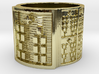 OBARATRUPON Ring Size 13.5 3d printed