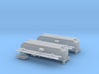 UP Water Tender (Ex Turbine) Type 1&2 - No Trucks 3d printed