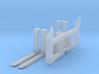 1:50 Forks for 963D track loader.  3d printed