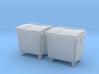 TJ-H01126x2 - Poubelles 4 roues 3d printed
