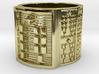 OKANASODDE Ring Size 11-13 3d printed