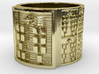 OKANATRUPON Ring Size 13.5 3d printed