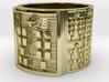 OKANATRUPON Ring Size 14 3d printed