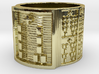 OGGUNDABIODDE Ring Size 14 3d printed