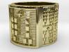 OGUNDAKANA Ring Size 13.5 3d printed