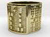 OGUNDAMASA Ring Size 11-13 3d printed