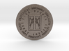 I AM that I AM Coin of 7 Virtues Large 3d printed