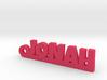 JONAH Keychain Lucky 3d printed