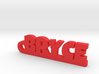 BRYCE Keychain Lucky 3d printed