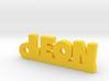 LEON Keychain Lucky 3d printed