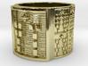 OSALONI Ring Size 13.5 3d printed