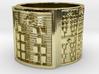 IKABARA Ring Size 13.5 3d printed