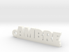 AMBRE Keychain Lucky 3d printed