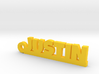 JUSTIN Keychain Lucky 3d printed