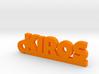 KIROS Keychain Lucky 3d printed