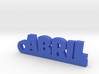 ABRIL Keychain Lucky 3d printed