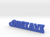 GUSTAVE Keychain Lucky 3d printed