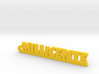 MILLICENTE Keychain Lucky 3d printed