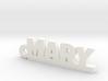 MARY Keychain Lucky 3d printed