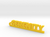SERENITY Keychain Lucky 3d printed