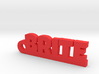 BRITE Keychain Lucky 3d printed